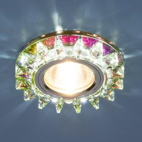 Фото 1/3 6037 MR16 MLT / Светильник встраиваемый мульти/хром