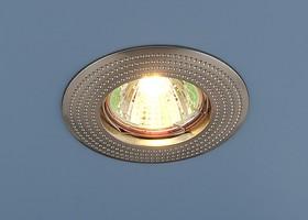 601 MR16 SN / Светильник встраиваемый сатин никель