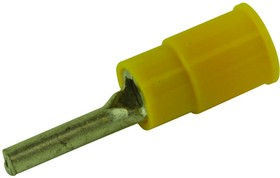 19212-0001, TERMINAL, 2.72MM, 12AWG-10AWG, YEL