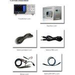 Фото 2/2 DSO4202C, Осциллограф цифровой 2 канала х 200МГц, 1ГГц + генератор СПФ до 25 МГц