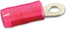 Фото 1/2 320553, Клемма с кольцевым наконечником, M2.5, #4, 16 AWG, 1.42 мм², Серия PIDG, Красный