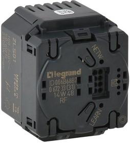 Выключатель 2.5кВт радио с инд. Leg 067233
