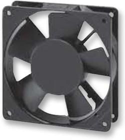 MCSP103AT 1122LBL.GN, Осевой Вентилятор, проводные выводы, шариковый, 115 В AC, 120 мм, 25 мм, 47 фут³/мин, 79.9 м³/ч