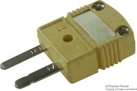 HMPW-K-M/N, MINIATURE CONNECTOR, PLUG, K TYPE