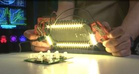 Лайтбокс на RGB светодиодах WS2812 и SK6812, Arduino проект для начинающих