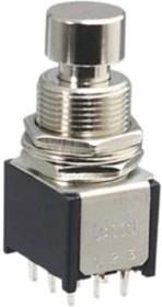 PBS-24-302SP, Кнопка с фиксацией ON-ON