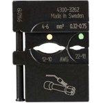PM-4300-3262/AAA, Матрица Pressmaster 4300-3262 для опрессовки соединительных трубок с термоусадкой на провод 0.32 - 6
