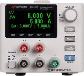 Фото 1/2 E36102A, Источник питания постоянного тока 30 Вт, 6 В, 5 А