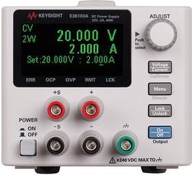 Фото 1/2 E36103A, Источник питания постоянного тока 40 Вт, 20 В, 2 А