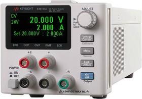 Фото 1/2 E36105A, Источник питания постоянного тока 36 Вт, 60 В, 0.6 А