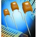 SR151A330JAA, CERAMIC CAPACITOR 33PF 100V, C0G, 5%, RADIAL