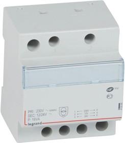 Трансформатор безопасности CX3 230В/8-24В 16Вт Leg 413095