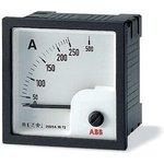 Амперметр переменного тока AMT1-A1-1/72 прям. вкл. ABB 2CSG312020R4001