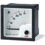 Амперметр переменного тока AMT1-A5/72 трансф. вкл. без шкалы ABB 2CSG322260R4001