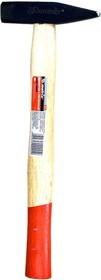 Фото 1/2 10233, Молоток слесарный, 600 г, квадратный боек, деревянная рукоятка