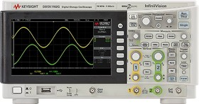 Фото 1/2 DSOX1102G, Цифровой запоминающий осциллограф, со встроенным генератором