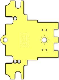 Фото 1/2 Печатная плата RDC1-0021_gold, Печатная плата с разводкой, FR4 37,8х50,8мм (1.5мм, 18мкм)