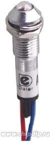 XD8-2W-R, Лампа неоновая с держателем красная 220VAC