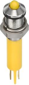 Q6P1CXXY24, LED INDICATOR 6MM PROMINENT 24VDC 75K7927
