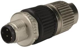 21032121407, SENSOR CONNECTOR, 4POS, PLUG, CABLE