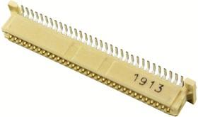 Фото 1/2 71439-2164, Составной разъем платы, PMC Mezzanine 71439 Series, 64 контакт(-ов), Гнездо, 1 мм