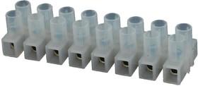 Фото 1/2 39100-2312, Клеммная колодка с перегородкой в панель, 2 ряда, 12 вывод(-ов), 20 AWG, 8 AWG, 12 мм, 40 А