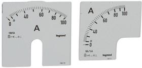 Шкала к амперметру 0-100А Leg 014613