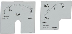 Шкала к амперметру 0-1500А Leg 014624