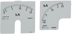Шкала к амперметру 0-2500А Leg 014626