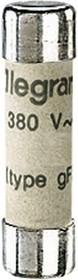 Вставка плавкая бытовая 8.5х31.5 1А без инд. Leg 012301