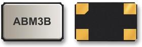 ABM3B-13.560MHZ-10-1-U-T, Кристалл, 13.56 МГц, SMD, 5мм x 3.2мм, 10 млн⁻¹, 10 пФ, 10 млн⁻¹, Серия ABM3B