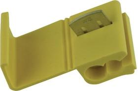 19216-0002, Наконечник для сращивания проводов, Multi-Lock 19216 Series, Обжим, 12 AWG, 10 AWG