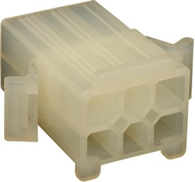 15-31-1061, Корпус разъема, 5025 Series, Штекер, 6 вывод(-ов), 4.8 мм, Molex 5006 Series Pin Contacts