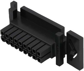 44133-1800, Корпус разъема, Micro-Fit 3.0 BMI 44133 Series, Гнездо, 18 вывод(-ов), 3 мм