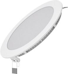 Фото 1/2 Светильник светодиодный встраиваемый ультратонкий круглый IP20 12W 2700K | 939111112 | Gauss