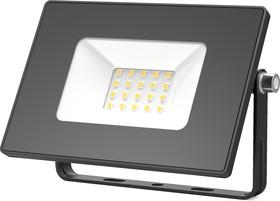 Прожектор светодиодный 20W 1300lm IP65 3000К черный | 613527120 | Gauss