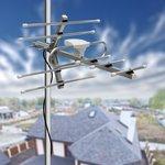 34-0411, ТВ антенна наружная «Активная» для цифрового ТВ DVB-T2, RX-411