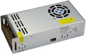 03-38, AC/DC LED, 12В,33.3А,400Вт,IP20, блок питания для светодиодного освещения