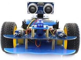 Фото 1/3 AlphaBot-Ar-Basic, Конструктор мобильного робота на базе UNO PLUS