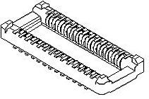 5000271641, Conn Board to Board PL 16 POS 0.4mm Solder ST SMD SlimStack™ T/R