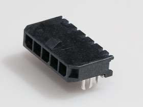 0436500510, Conn Power HDR 5 POS 3mm Solder RA SMD 5 Terminal 1 Port Micro-Fit 3.0™ T/R