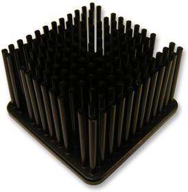 MBH42.5002-25P/2.6, Теплоотвод, BGA, черный анодированный, 1.9 °C/Вт, BGA, 42.5 мм, 25 мм, 42.5 мм