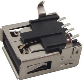 MC32602, Разъем USB, USB Типа A, USB 2.0, Гнездо, 4 вывод(-ов), Поверхностный Монтаж, Прямой Угол | купить в розницу и оптом