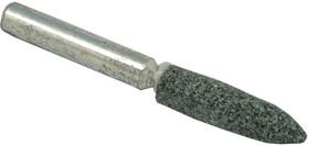 Шарошка абразивная ПРАКТИКА 641-329 цилиндрическая заостренная 6х27мм, хв.6мм, карбид кремния, Эксп