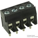 MA212-350M04, TERMINAL BLOCK EUROSTYLE, 4 POSITION, 26-16AWG