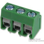 MA331-500M03, TERMINAL BLOCK EUROSTYLE, 3 POSITION, 26-14AWG