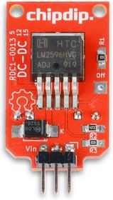 Фото 1/2 RDC1-0014 5V, Встраиваемый DC/DC преобразователь, вход 6-60В, выход 5В/3А, LM2596HV