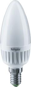 NLL-C37-7-230- 4K-E14-FR-DIMM (61380), Лампа светодиодная диммируемая (свеча) 7Вт 220В (дневной)