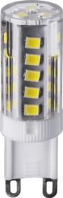 Фото 1/2 NLL-P-G9-3-230-4K (71994), Лампа светодиодная 3Вт, 220В, капсула керамика