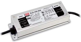 Фото 1/2 ELG-100-24, AC/DC LED, 24В,4А,96Вт,IP67 блок питания для светодиодного освещения